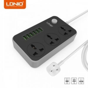LDNIO SC3604 6 USB Identify Automatically Anti Static Power Socket