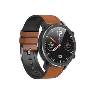 Microwear L11 Smart Watch Brown Touch Screen
