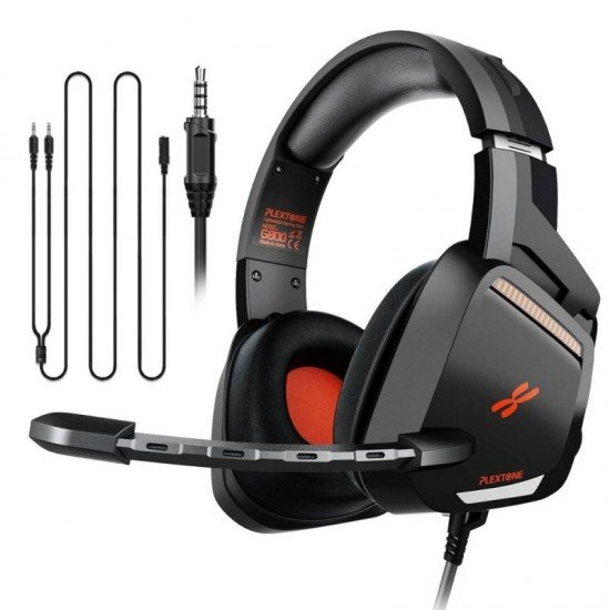 PLEXTONE G800 Wired Over Ear Gaming Headset for Gamer