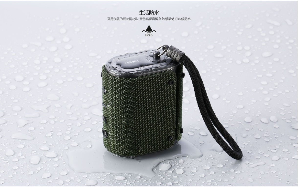 REMAX RB M30 Fabric Series Wireless Bluetooth Speaker 3
