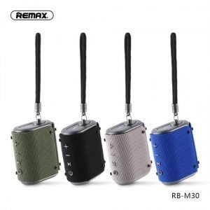 REMAX RB M30 Fabric Series Wireless Bluetooth Speaker