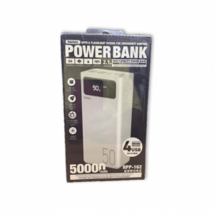 REMAX RPP 162 50000mAh Power Bank with 4USB Outputs 3USB Inputs