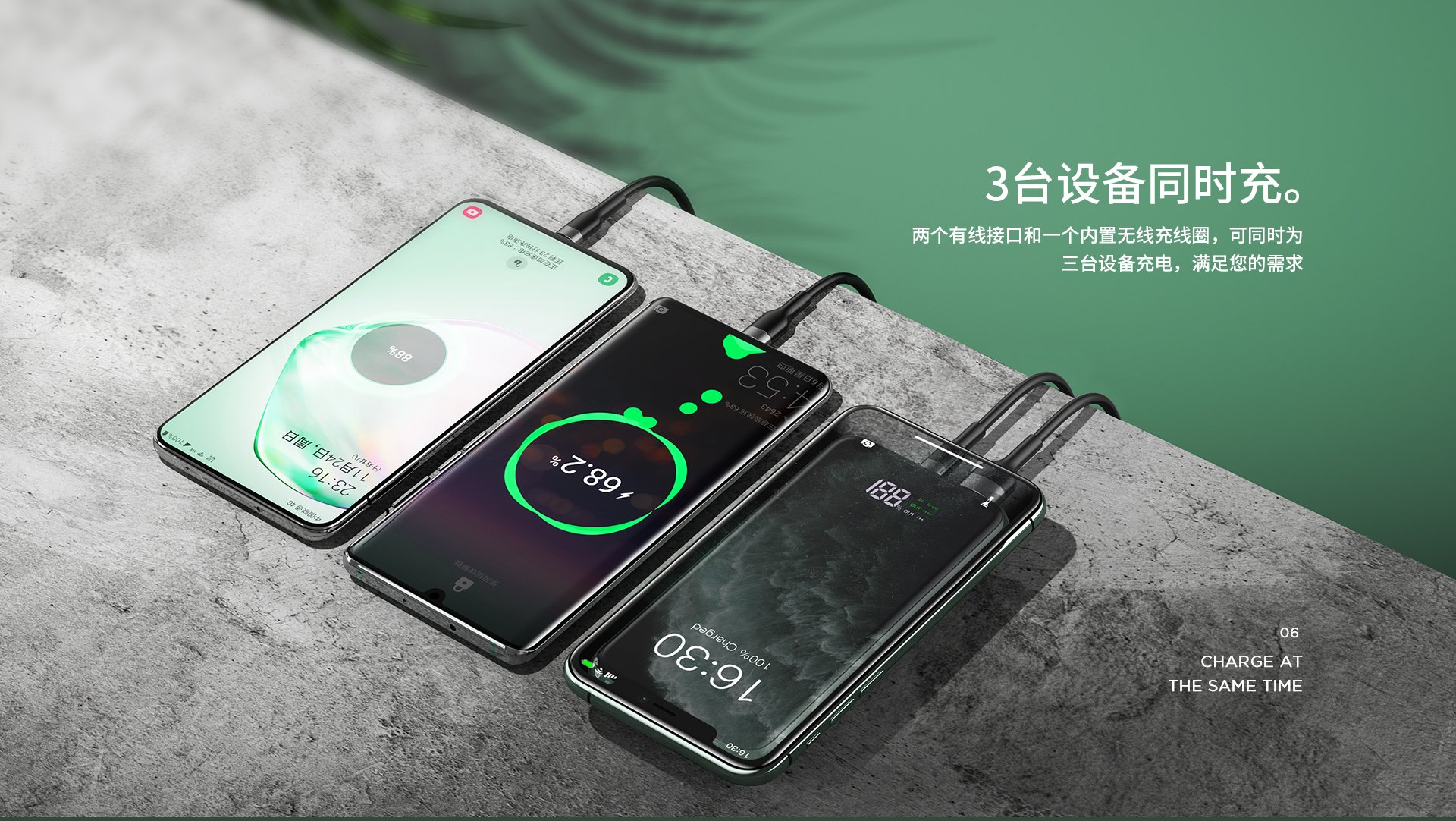 REMAX RPP 2 SINYO SERIES 18W PD QC3.0 10000MAH WIRELESS FAST CHARGE POWER BANK WITH BUILT IN PHONE HOLDER 2