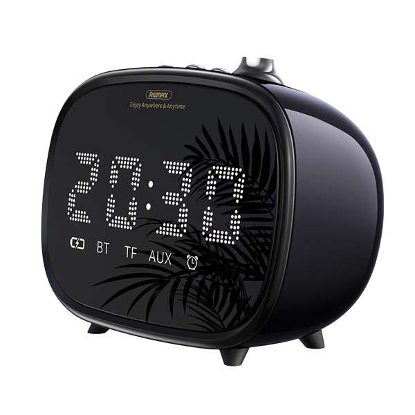 Remax RB M52 Alarm Clock Wireless Bluetooth Speaker