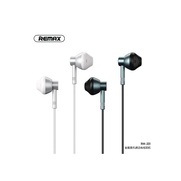 Remax RM 201 Wired In Ear Headphone 2