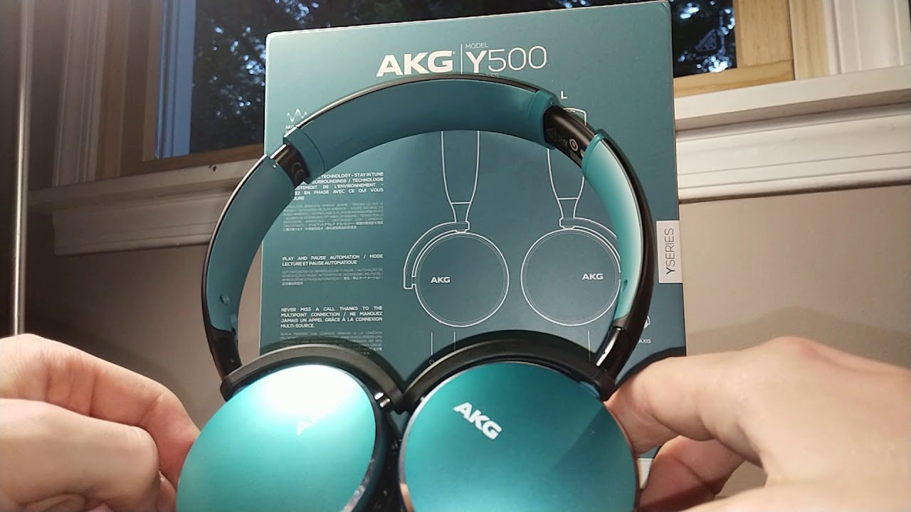 AKG Y500 Foldable Wireless Bluetooth Headphones 2