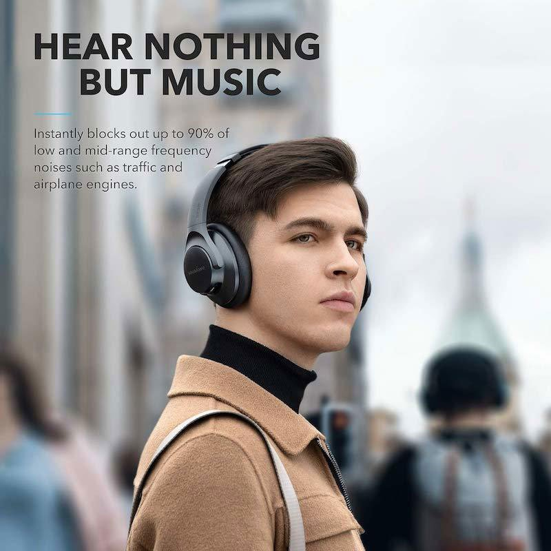 Anker Life Q20 Hybrid Active Noise Canceling Headphones 2