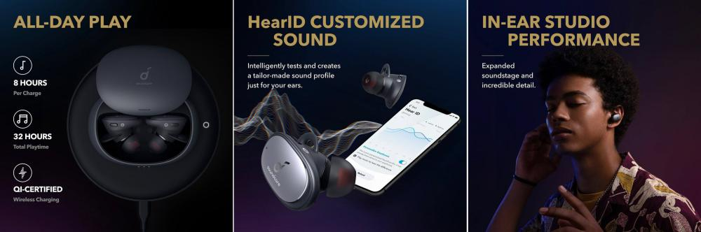 Anker Soundcore Liberty 2 Pro TWS Earbuds 1