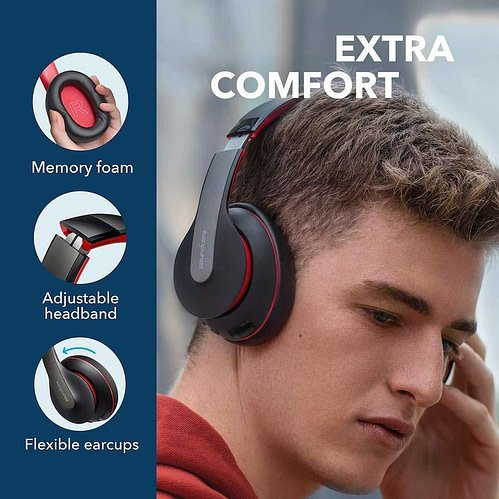Anker Soundcore Life Q10 Over Ear Wireless Bluetooth Headphones 3