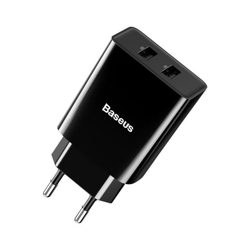 BASEUS 10.5W Speed Mini Dual USB Charger 9