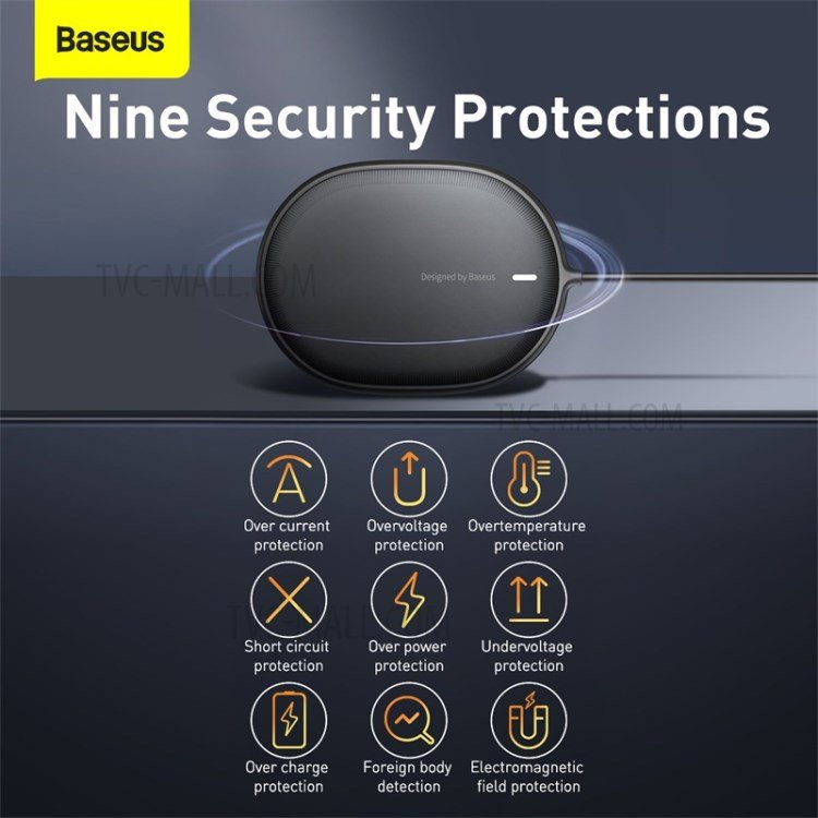 Baseus Light Magnetic Wireless Charger for iP 12 Series