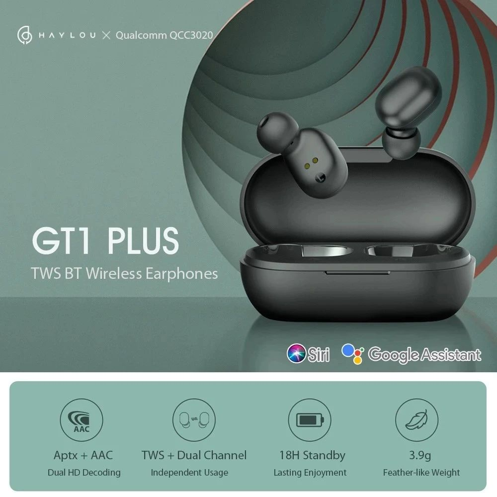 Haylou GT1 Plus TWS Bluetooth 5.0 Earphones 3