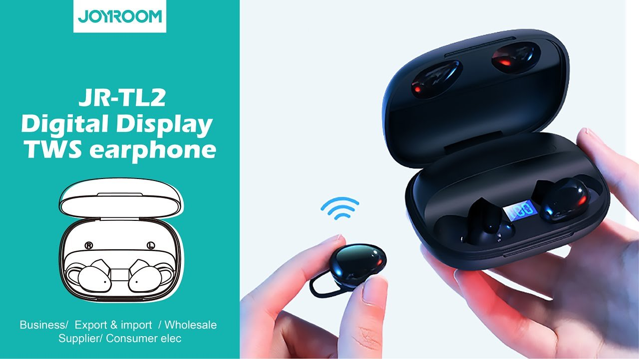 JORYOOM JR TL2 TWS Wireless Earphones 4