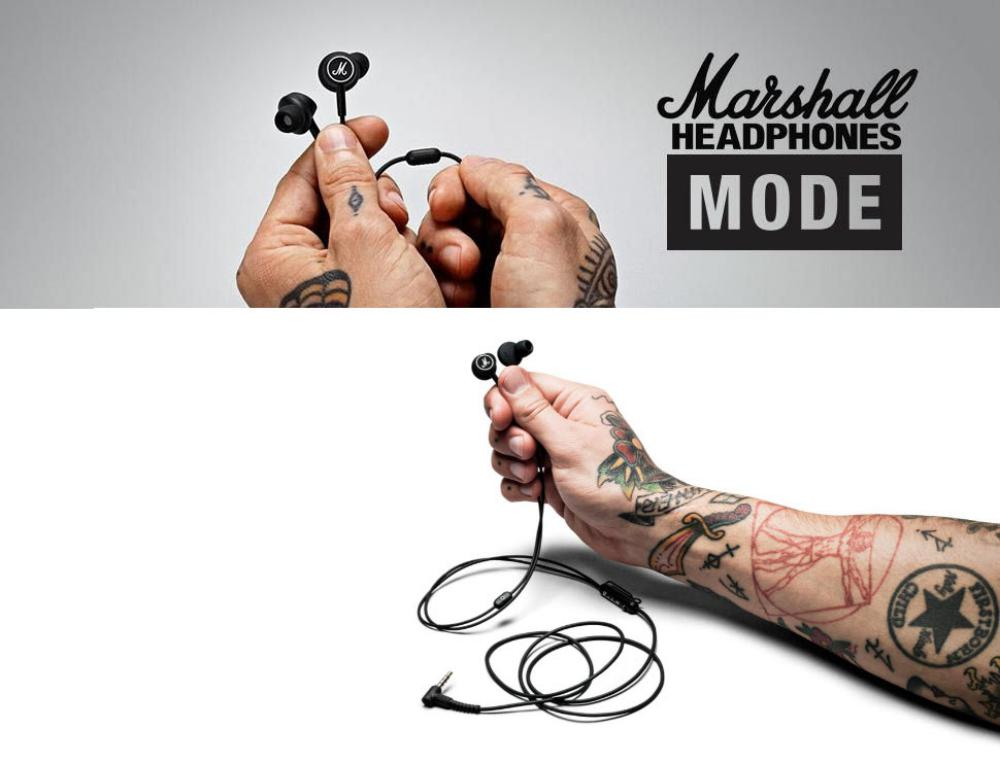 Marshall Mode In Ear Wired Earphones 3