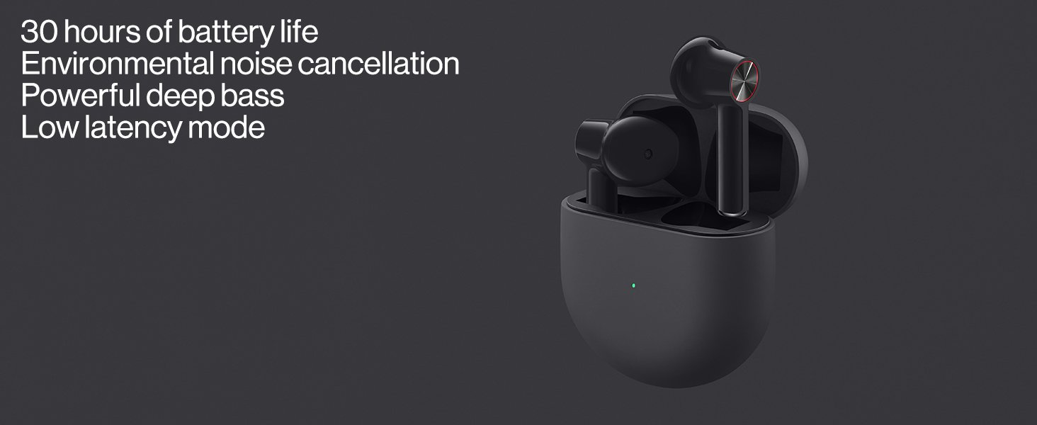 OnePlus Buds True Wireless Earbuds – Grey 4