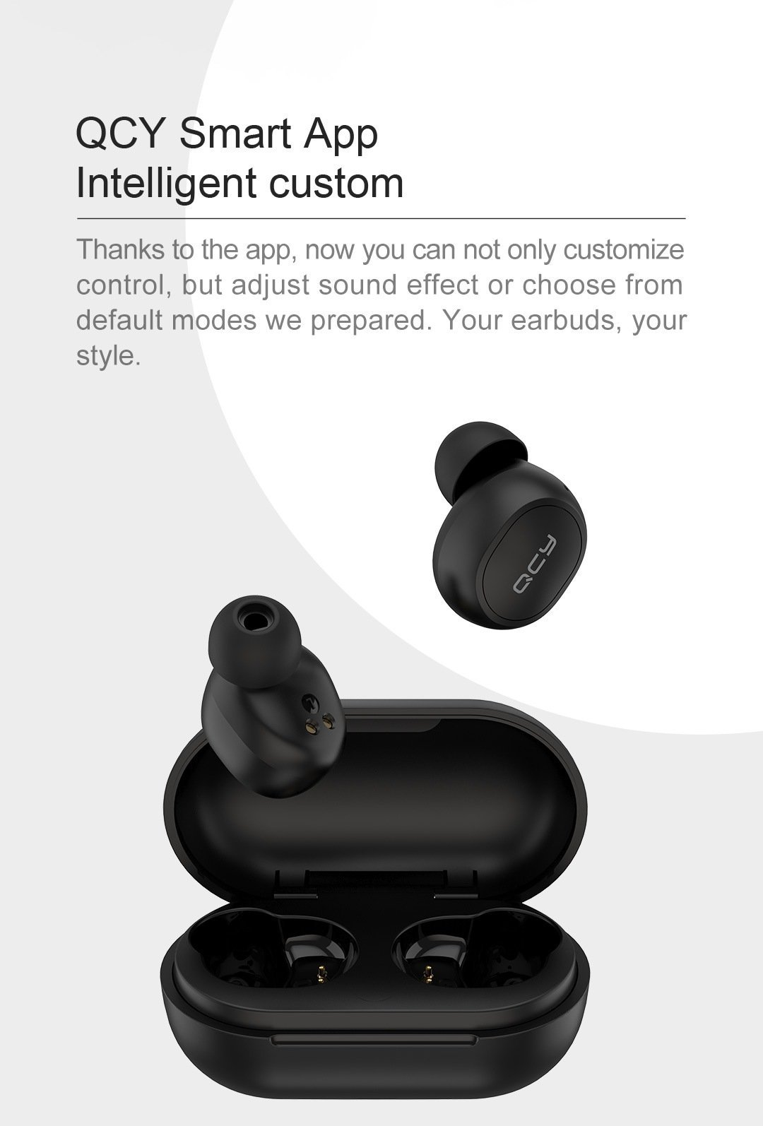 QCY M10 TWS Bluetooth V5.0 Wireless Earphones 3D Stereo Earbuds