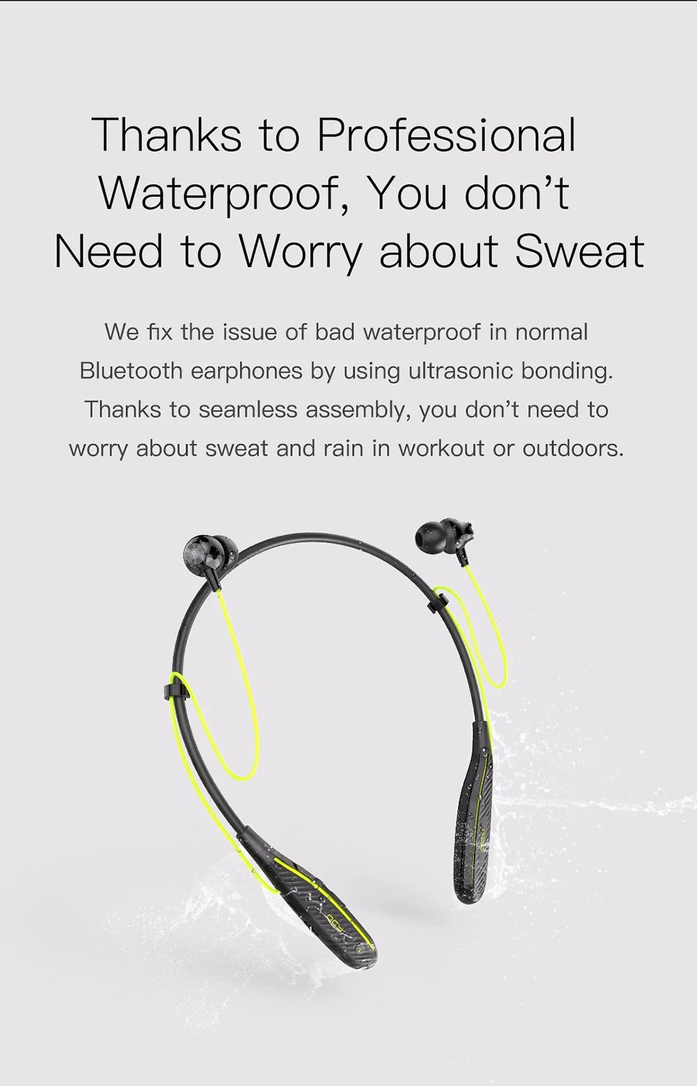 QCY QY25 Plus Magnetic Bluetooth Headphone 3