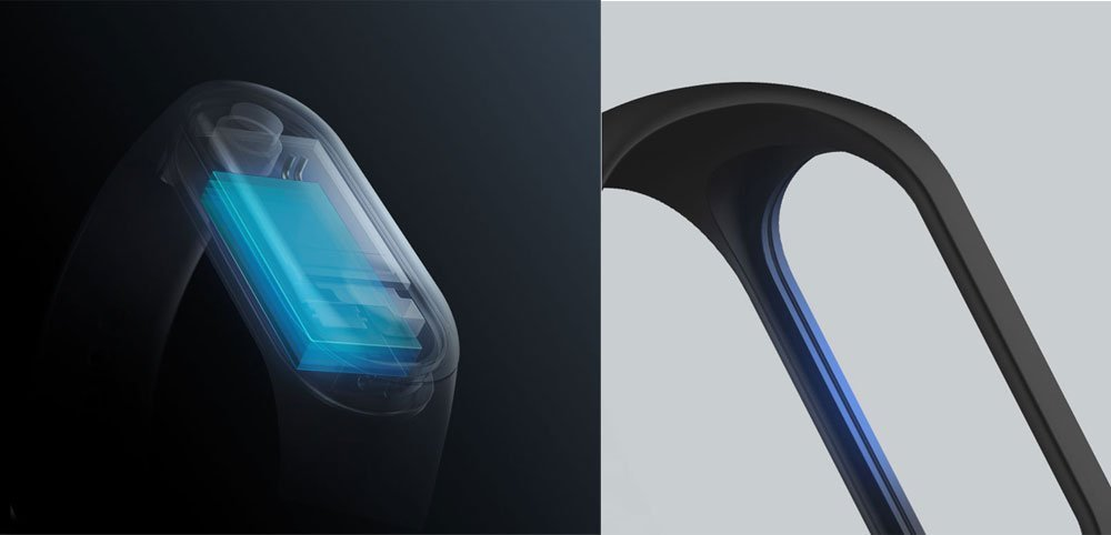 Xiaomi Mi Band 3 OLED Touch Screen 4
