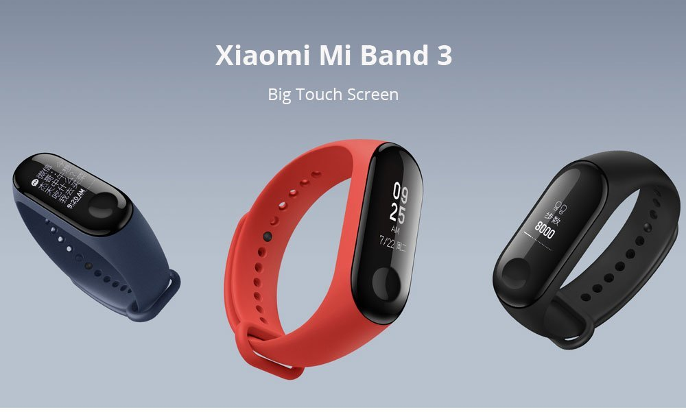 Xiaomi Mi Band 3 OLED Touch Screen 6