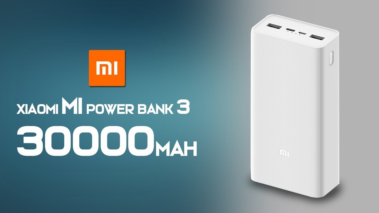 Xiaomi Power Bank 3 30000mAh Type C 1