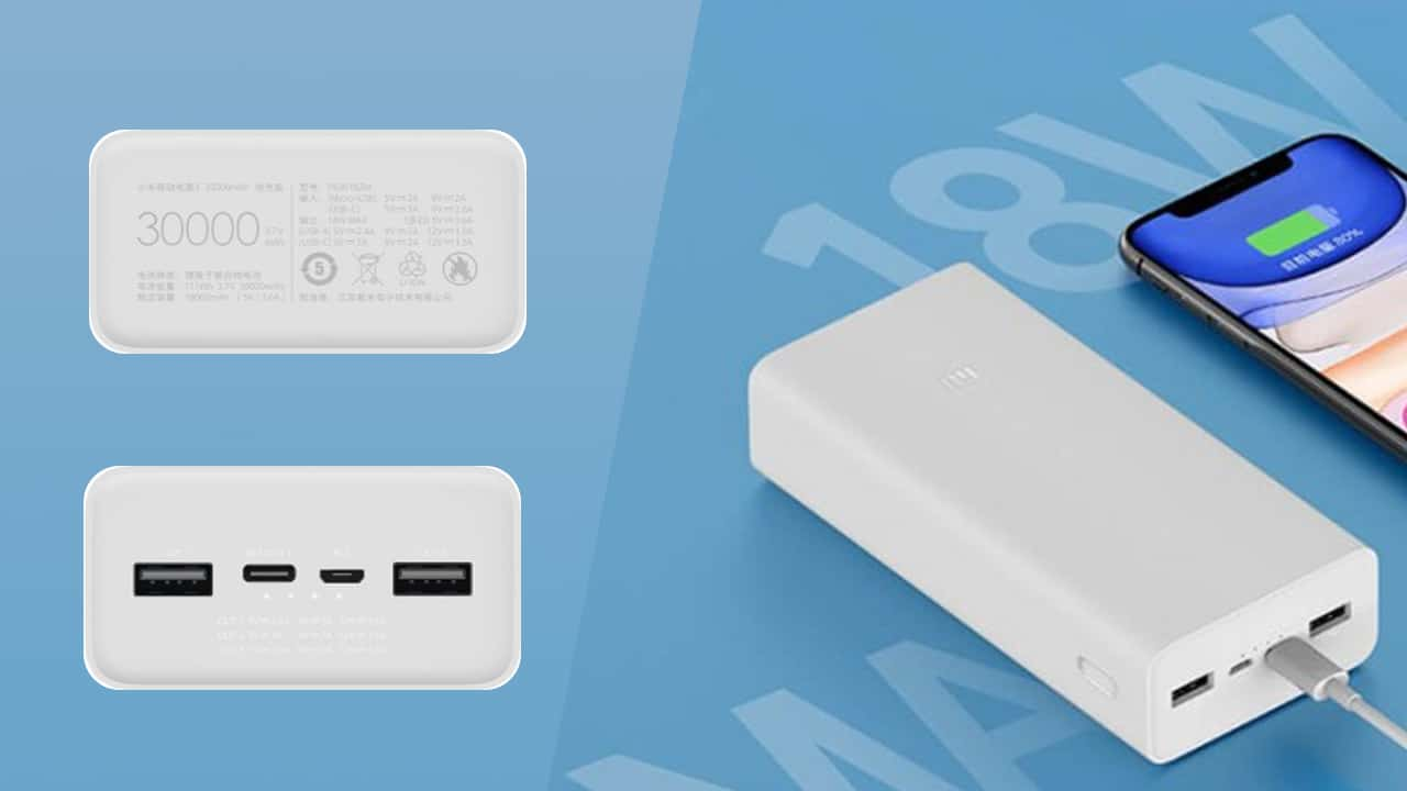 Xiaomi Power Bank 3 30000mAh Type C 2